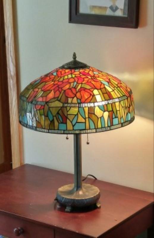 tiffany et vitrail r alisations lampes. Black Bedroom Furniture Sets. Home Design Ideas