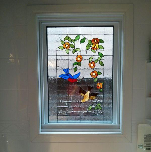 Vitrail portes vitr es montr al for Portes coulissantes vitrees interieures